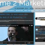 Time2Marketing Lyon : «It's time 2 marketing», j'y serais et vous ?