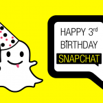 Snapchat a 3 ans ! – #infographie #CM