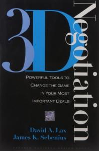 3-D Negotiation de David A. Lax and James K. Sebenius