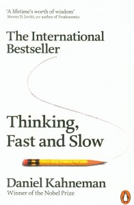 Thinking, Fast and Slow de Daniel Kahneman