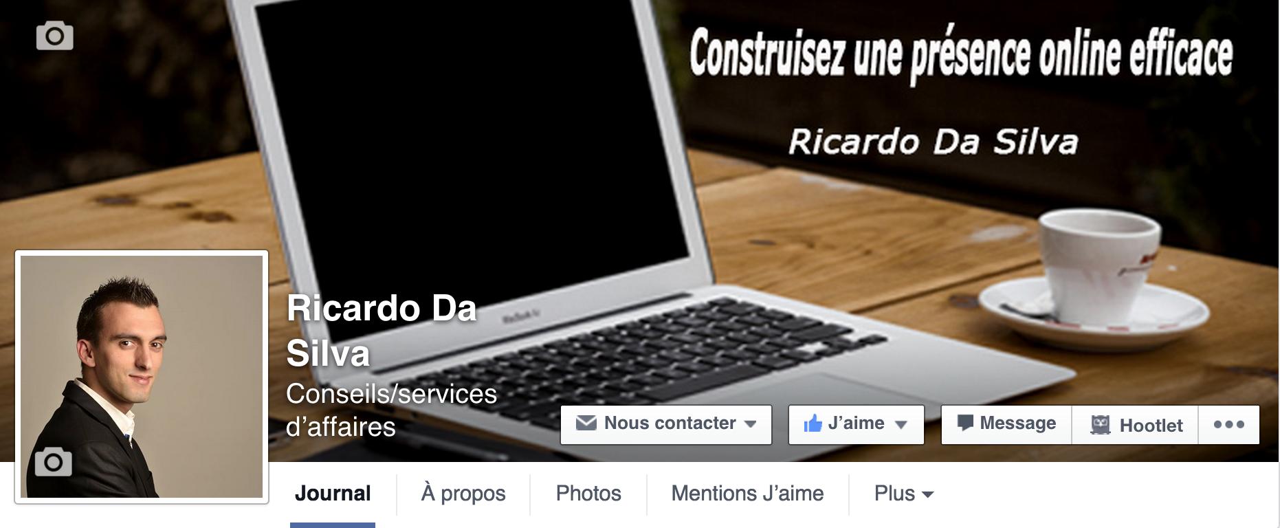 Comment ajouter un bouton call to action sur la photo de couverture d'une page facebook ?