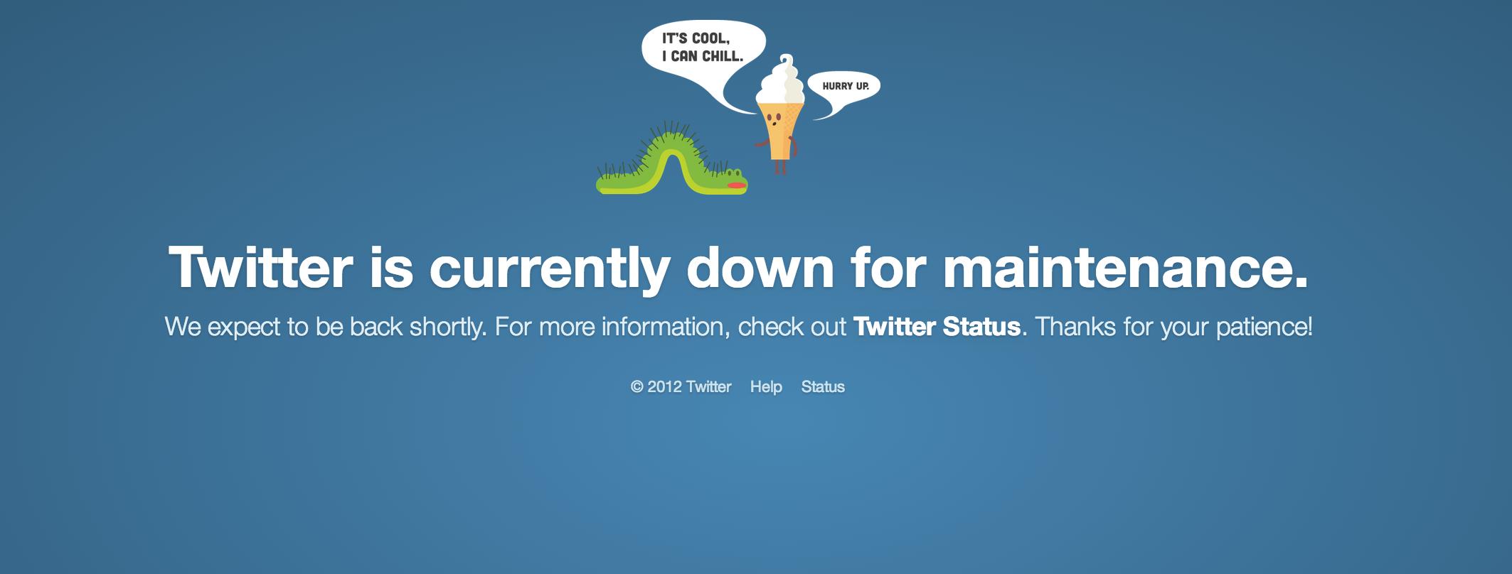 Twitter panne