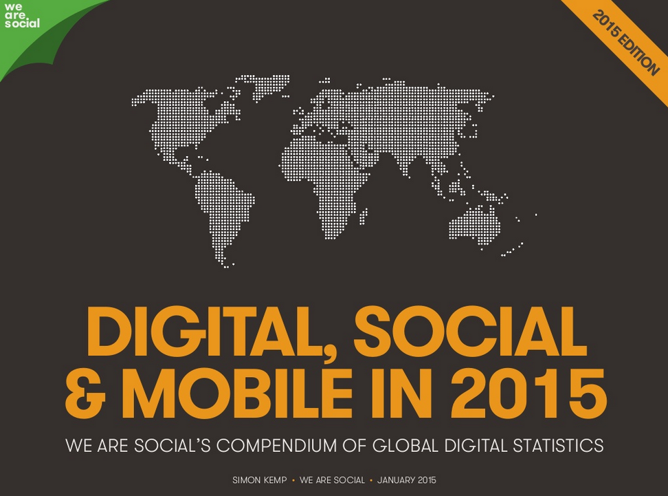 Digital, Social Media et Mobile en 2015