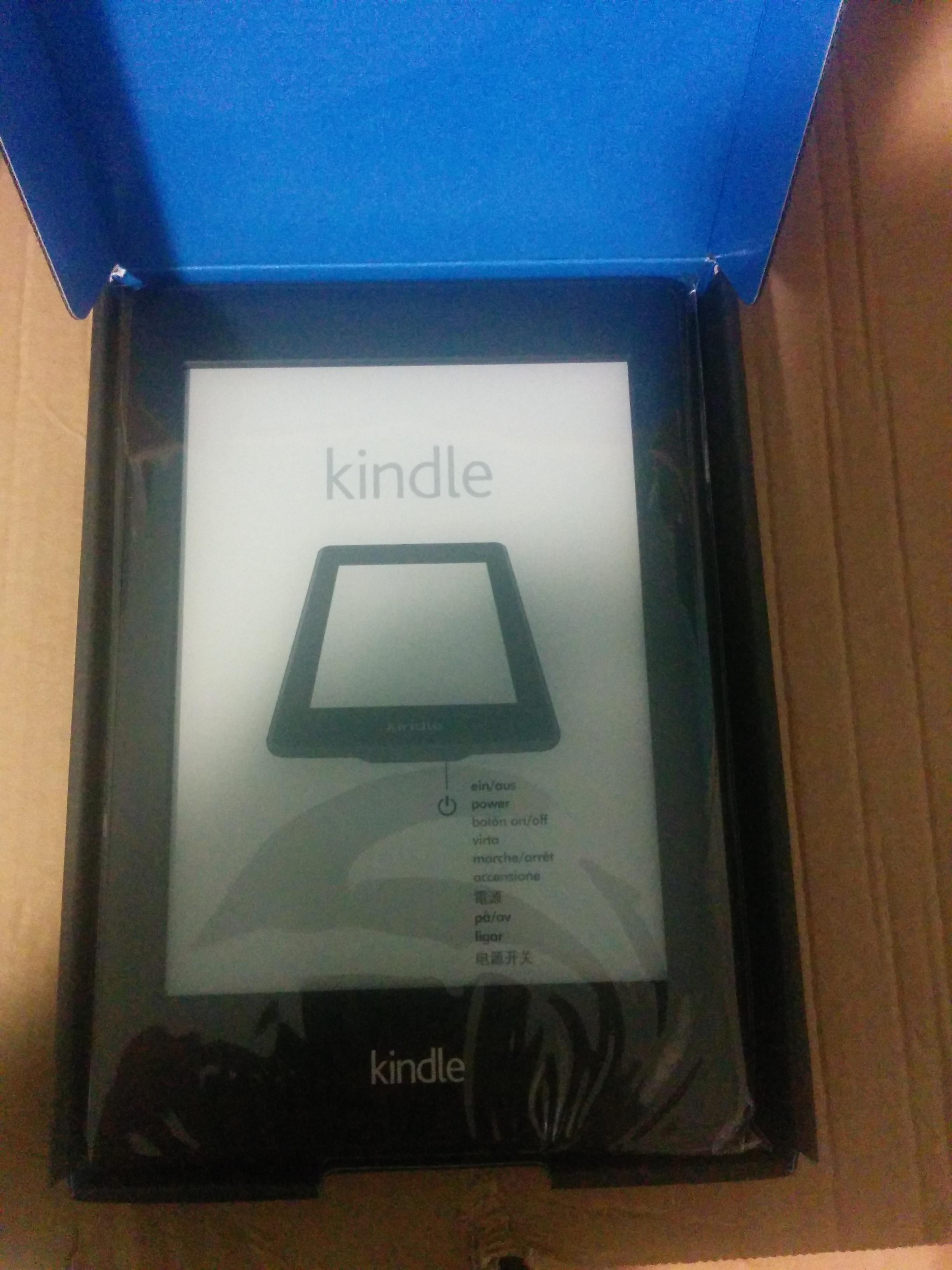 Pourquoi j'ai acheté un Kindle ?