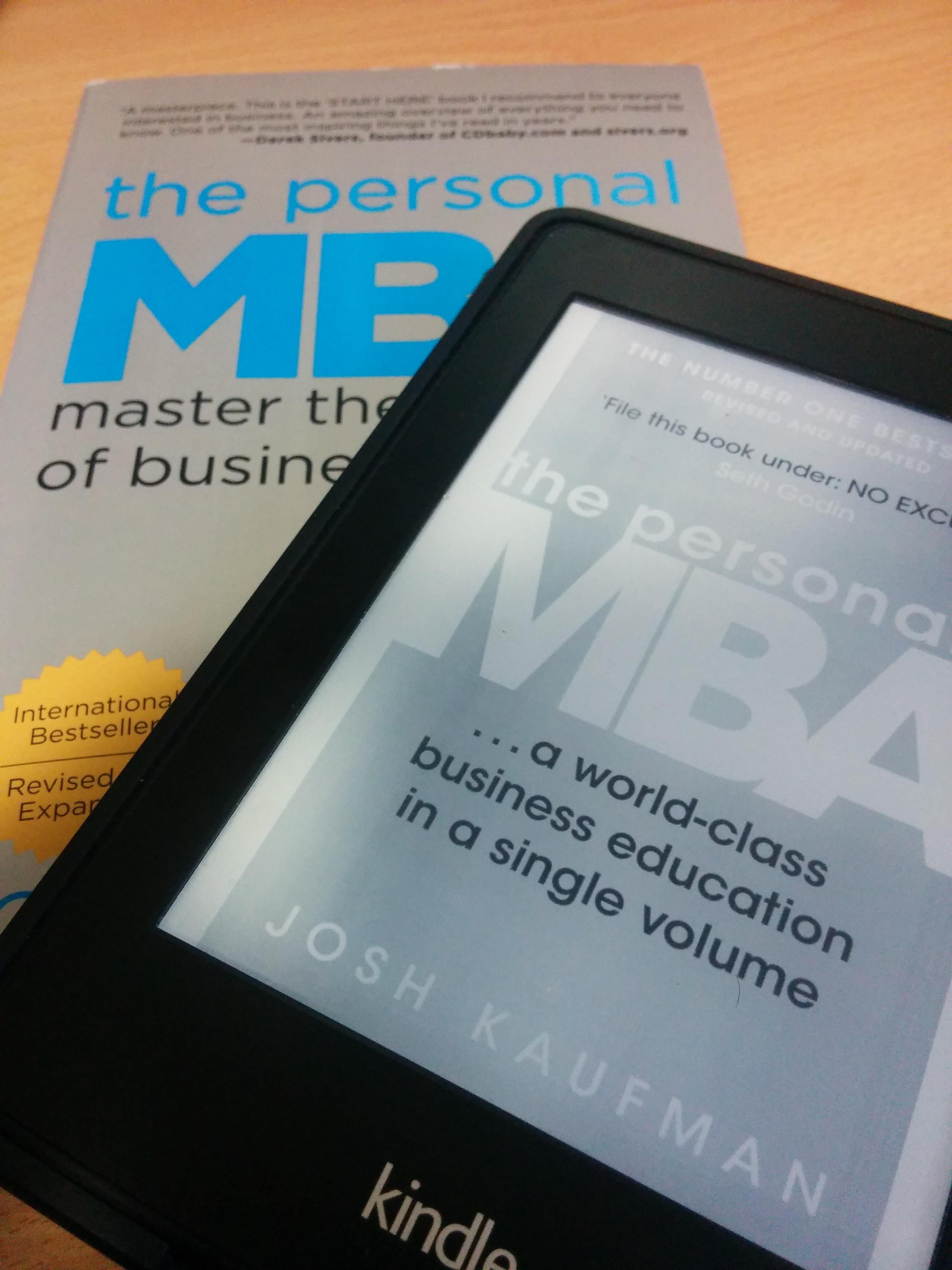 Le personal MBA : liste des meilleurs livres de business