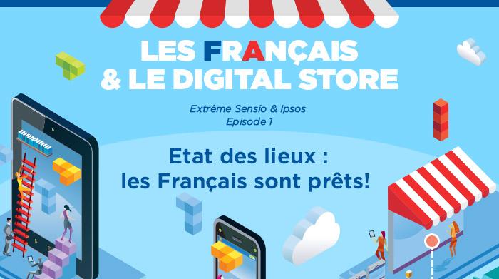 Infographies : les français sont connectés et où sont les magasins connectés ?
