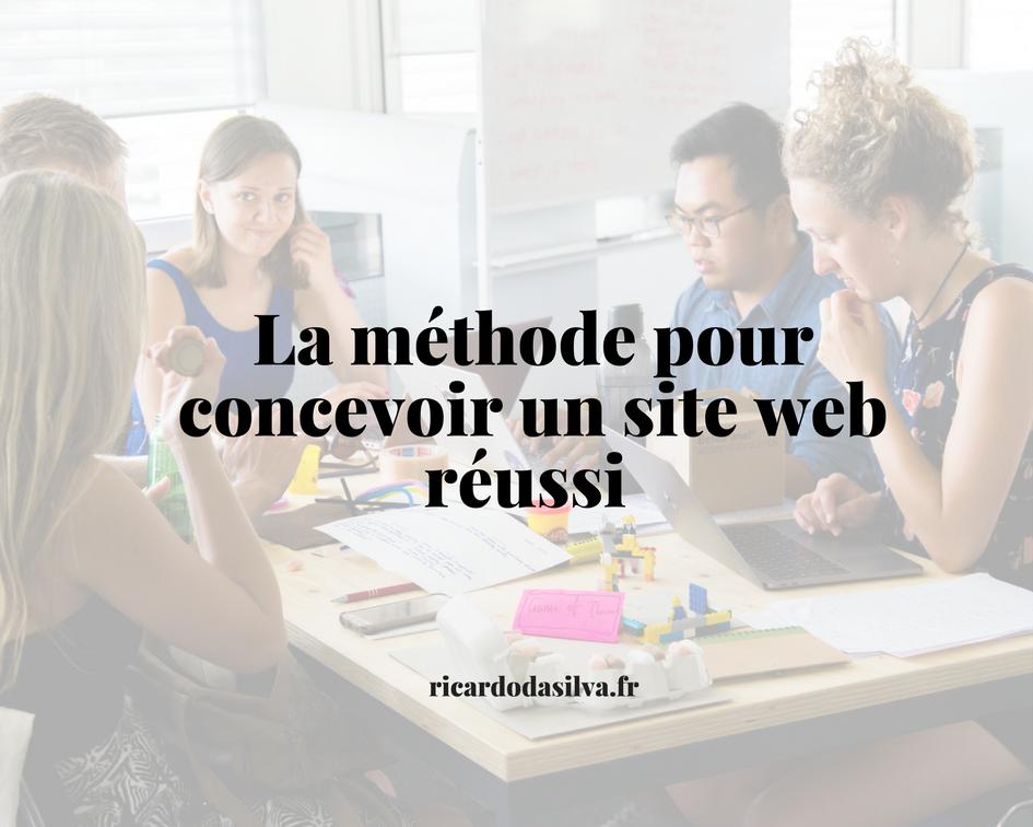 La méthode pour concevoir un site web réussi