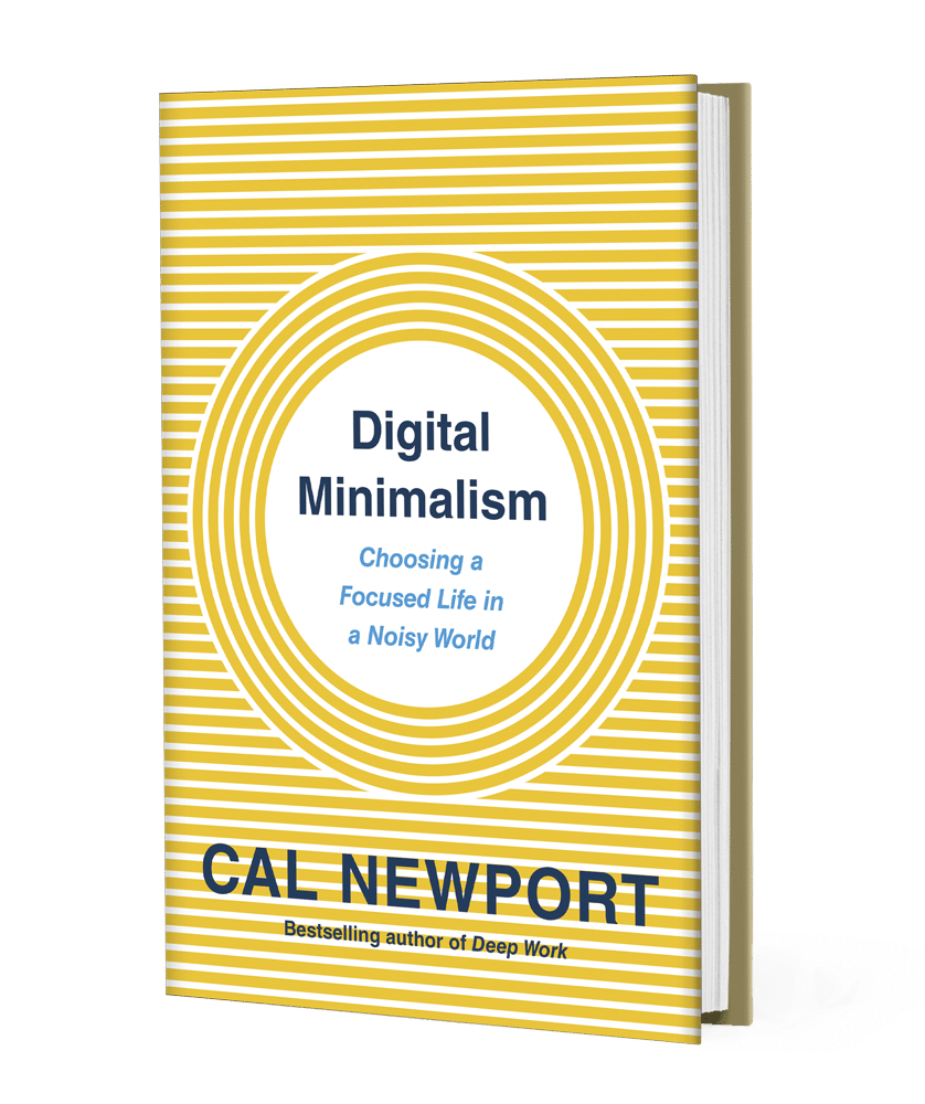 Digital Minimalism De Cal Newport : Un Livre Que Je